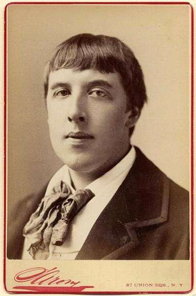 Oscar Wilde photographed by Napoleon Sarony in 1883 when he returned to America to oversee the production of his play 'Vera; Or The Nihilists'. For all the Sarony Photographs click the image.