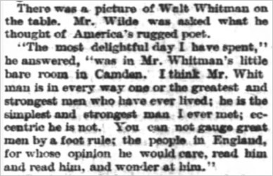 wilde-on-whitman