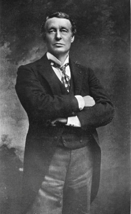 Sir Charles Wyndham (1837-1919) was born Charles Culverwell and became a friend to Oscar Wilde